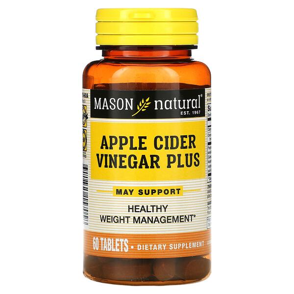 Apple Cider Vinegar Plus, 60 Tablets