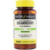 Mason Natural, Cranberry Altamente Concentrado Com Probióticos, 60 Comprimidos