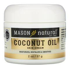 Mason Natural, 椰子油護膚霜,2 盎司(57 克)