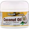 Mason Natural, Coconut Oil Beauty Cream, 2 oz (57 g)