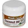 Mason Naturals, Coconut Oil Beauty Cream, 2 oz (57 g)