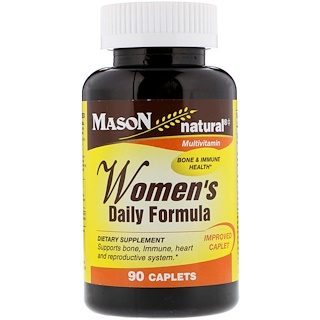 Mason Natural, Women's Daily Formula, 90 Caplets