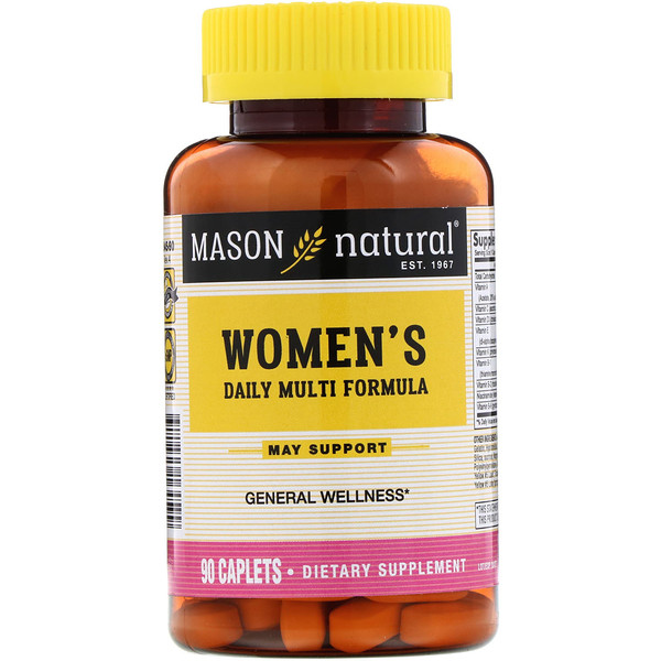 Women's Daily Multi Formula, 90 Caplets