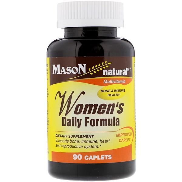 Mason Natural, 女性每日配方,90 片囊片