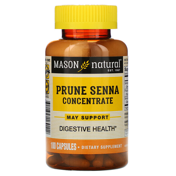 Prune Senna Concentrate, 100 Capsules