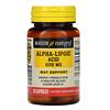 Mason Natural, Alpha-Lipoic Acid, 600 mg, 30 Capsules