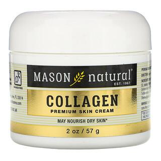 Mason Natural, Coconut Oil Skin Cream + Collagen Premium Skin Cream, 2 Pack, 2 oz (57 g) Each