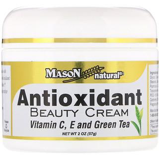 Mason Natural, Antioxidant Beauty Cream with Vitamin C, E, and Green Tea, 2 oz (57 g)