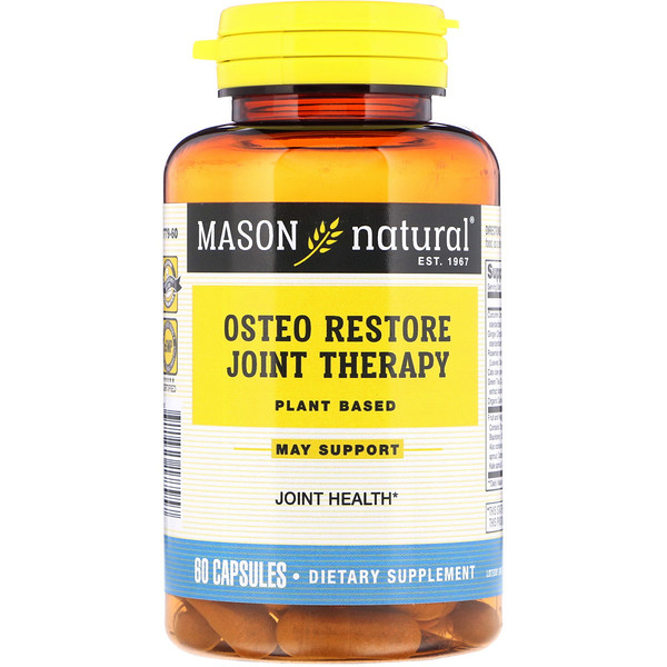 Mason Natural, Osteo Restore Joint Therapy, 60 Capsules	 (Discontinued Item)