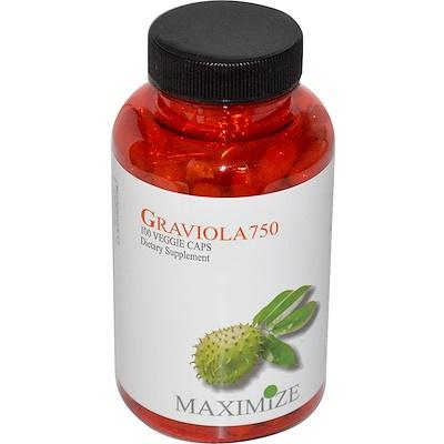 Купить Гравиола 750, 100 капсул на растительной основе