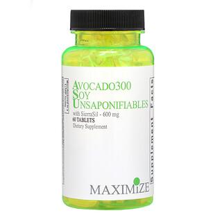 Maximum International, 아보카도 300 간장 불검화물, 300 mg, 60 정