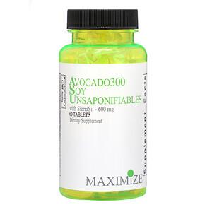Максисмум интернатионал, Avocado 300 Soy Unsaponifiables, 600 mg, 60 Tablets отзывы покупателей