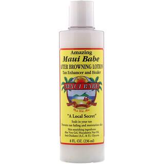 Maui Babe, After Browning Lotion, лосьон после загара для улучшения цвета загара и ухода за кожей, 236мл