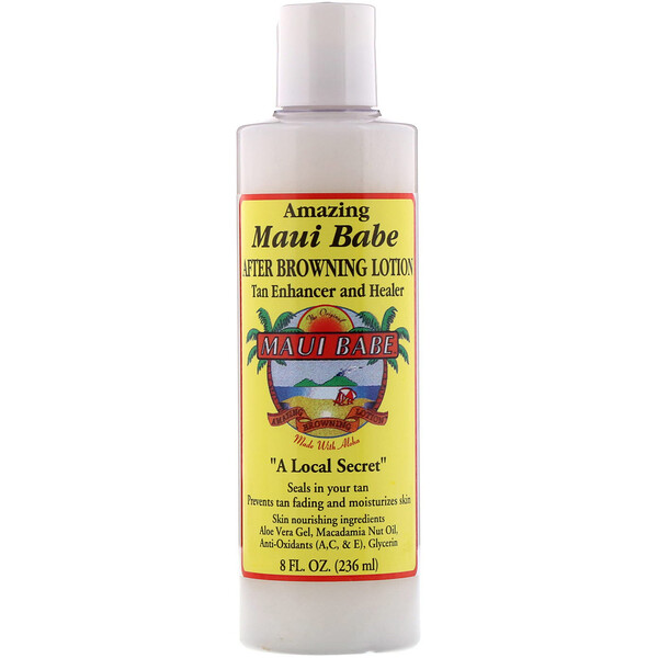 Maui Babe, After Browning Lotion, Tan Enhancer and Healer, 8 fl oz (236 ml)
