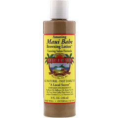 Maui Babe, 神奇的棕色乳液,美黑沙龍配方,8 液量盎司(236 毫升)