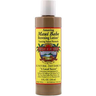 Maui Babe, Amazing Browning Lotion, салонное средство для загара, 236мл (8жидк. унций)