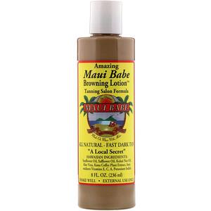 Maui Babe, Amazing Browning Lotion, Tanning Salon Formula, 8 fl oz (236 ml) отзывы покупателей