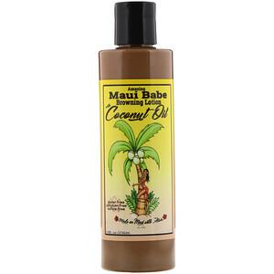 Maui Babe, Amazing Browning Lotion with Coconut Oil, 8 fl oz (236 ml) отзывы покупателей