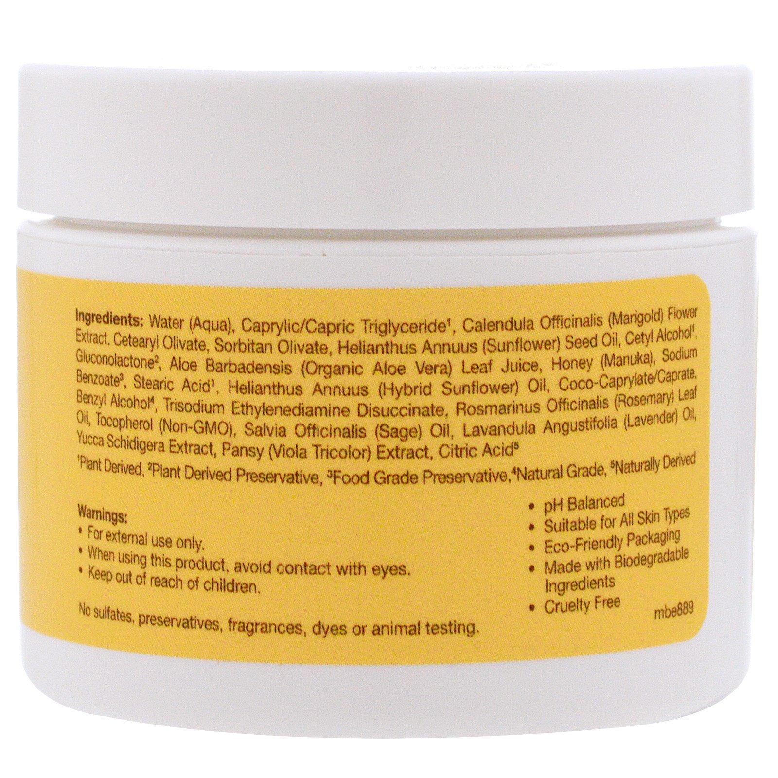 Sierra Bees, Calendula, Soothing Skin Cream, 2 oz (60 g