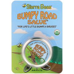 Sierra Bees, 有機,Bumpy Road Salve跌打瘀傷膏,0.6盎司(17克)