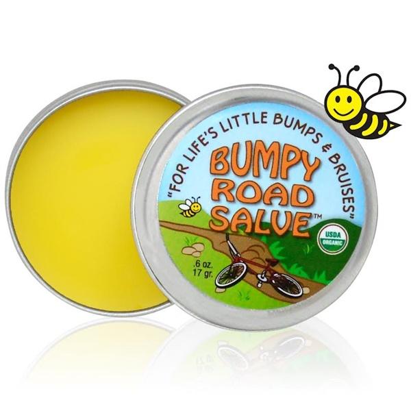 Sierra Bees, 범피 로드 연고, .6 온스 (17 g)