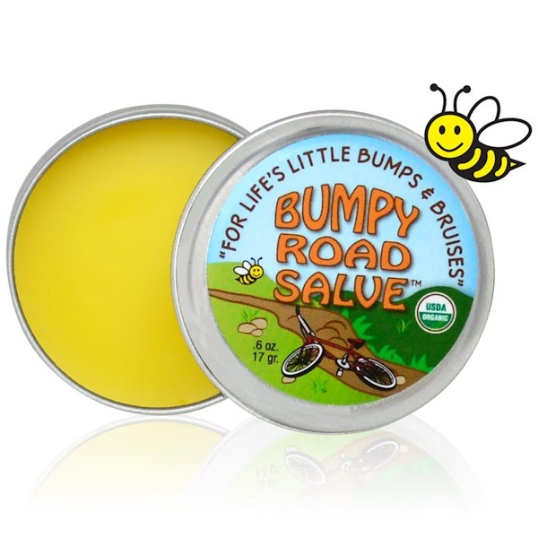 Sierra Bees, Bumpy Road Salve, .6 oz (17 g)