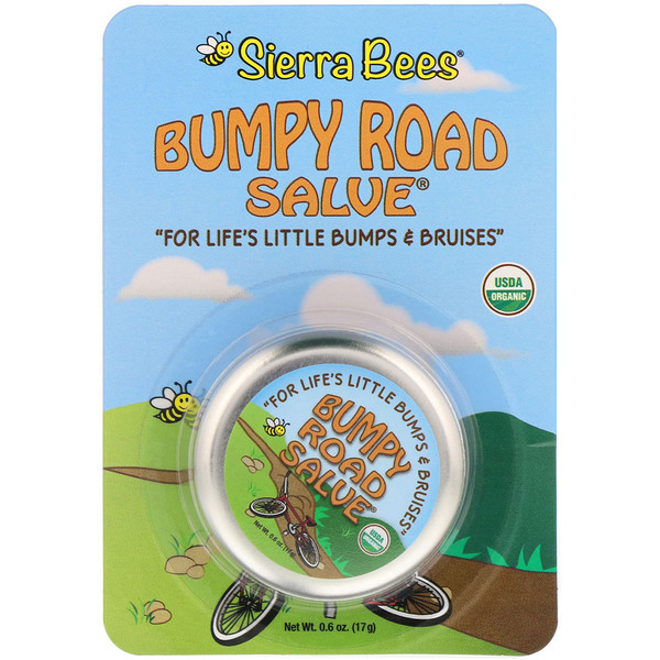Bumpy Road Salve, Bálsamo, 17 g (0,6 oz)