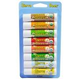 Отзывы о Sierra Bees, Organic Lip Balms Combo Pack, 8 Pack, .15 oz (4.25 g) Each