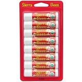 Отзывы о Sierra Bees, Органические бальзамы для губ, Гранат, 8 штук, каждый по 0,15 унции (4,25 г)