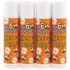 Sierra Bees, Органический бальзам для губ, мандарин и ромашка, 4 шт., 0,15 унции (4,25 г) каждый