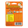 Sierra Bees, Organic Lip Balms, Tangerine Chamomile, 4 Pack, .15 oz (4.25 g) Each