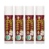Sierra Bees, Organic Lip Balm, Black Cherry, 4 Pack, .15 oz (4.25 g) Each