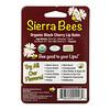 Sierra Bees, органічні бальзами для губ, з ароматом чорної вишні, 4шт.в упаковці, 4,25г (15унцій) кожен