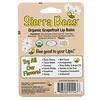 Sierra Bees, 有机润唇膏,葡萄柚,4 支,每支 0.15 盎司(4.25 克)