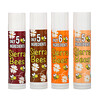 Sierra Bees, Organic Lip Balm Variety Pack, 4 Pack, .15 oz (4.25 g) Each