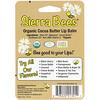 Sierra Bees, Органические бальзамы для губ, масло какао, 4 в упаковке, по 4,25 г (0,15 унц.) каждый