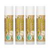 Sierra Bees, Bálsamos orgánicos para labios, Crema de Cacao, Paquete de 4, cada pieza contiene: .15 oz (4,25 g).