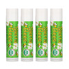 Sierra Bees, Organic Lip Balms, Mint Burst, 4 Pack, .15 oz (4.25 g) Each