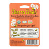 Sierra Bees, Organic Lip Balms, Shea Butter & Argan Oil, 4 Pack, .15 oz (4.25 g) Each