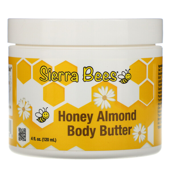 Honey Almond Body Butter, 4 fl oz (120 ml)
