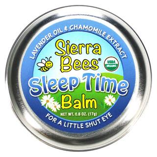 Sierra Bees, Sleep Time Balm, Lavender & Chamomile, 0.6 oz (17 g)