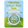 Chest Rub Balm, Eucalyptus & Peppermint, 0.6 oz (17 g)
