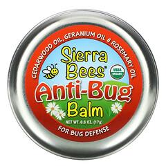 Sierra Bees, 防蟲膏,雪松木、天竺葵和迷迭香油,0.6 盎司(17 克)