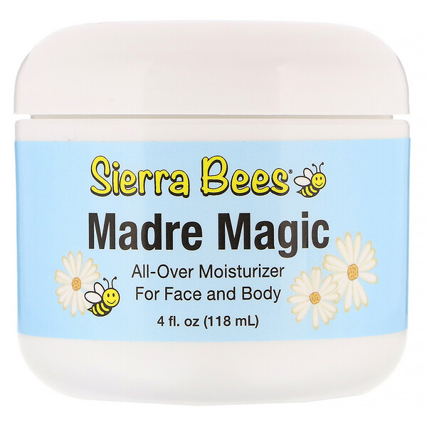 Sierra Bees, Madre Magic, Royal Jelly & Propolis Cream, 4 fl oz (118 ml)