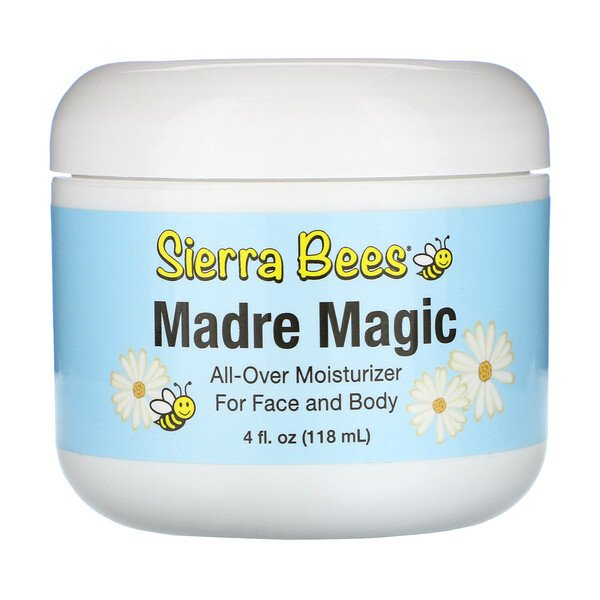 Sierra Bees, Madre Magic, Bálsamo Multiuso para Geleia Real e Própolis, 118 ml (4 fl oz)