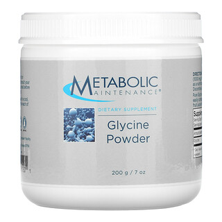 Metabolic Maintenance, Glycine Powder, 7 oz (200 g)