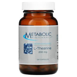 Metabolic Maintenance, L-Theanine, 200 mg, 120 Capsules