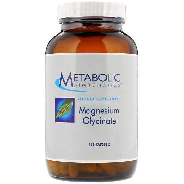 Metabolic Maintenance, Magnesium Glycinate, 180 Capsules