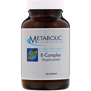 Metabolic Maintenance, B-Complex, Phosphorylated, 100 Capsules