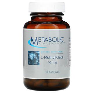 Metabolic Maintenance, L-Methylfolate, 10 mg, 90 Capsules